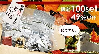 おやつびっくり箱 秋2012