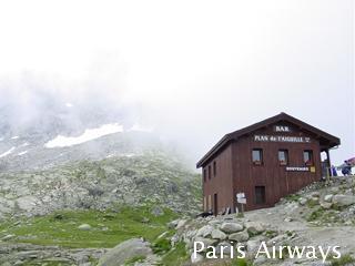 Aiguille du Midi ロープウェイ シャモニー