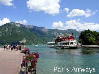 フランス アヌシー湖