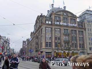 アムステルダム ダム広場 バイエンコルフ