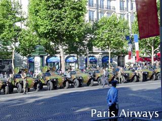 パリ祭 シャンゼリゼ