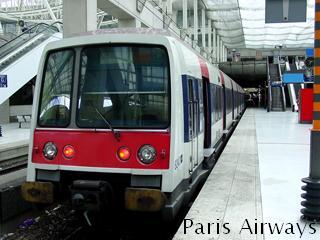 RER パリ シャルルドゴール空港