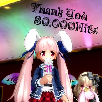 80,000Hit