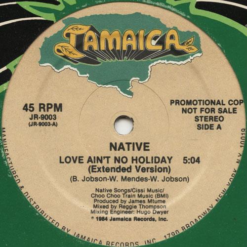 DG_NATIVE_LOVE AINT NO HOLIDAY ( PROMO )_201301