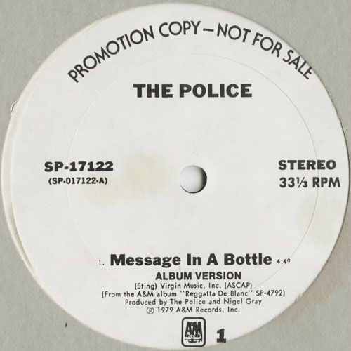 DG_POLICE_MESSAGE IN A BOTTLE ( PROMO )_201301