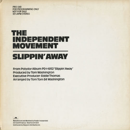 DG_INDEPENDENT MOVEMENT_SLIPPIN AWAY_201301