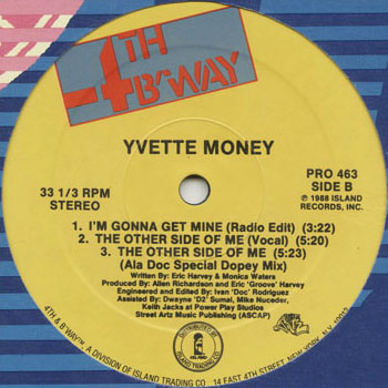 HH_YVETTE MONEY_THE OTHER SIDE OF ME_201303