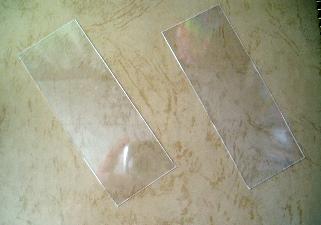 お弁当の蓋のプラスチックをカット。わかりにくい写真ですみません(^_^;)