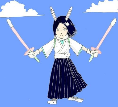 剣道キャラ 兎 改 dx