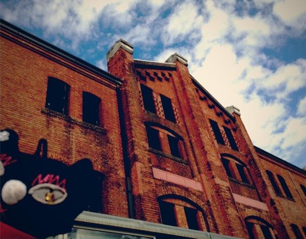 初めての赤レンガ倉庫
