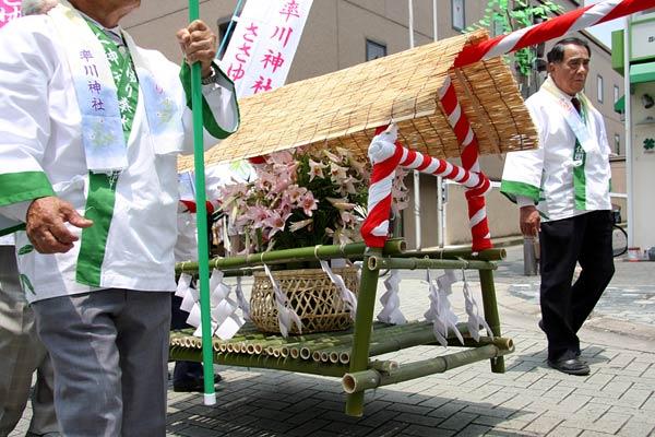 率川神社 ささゆり奉献5
