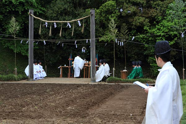 大神神社 播種祭1