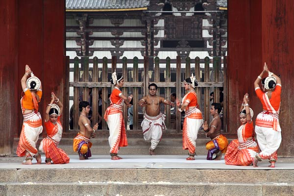 東大寺 インド舞踊3