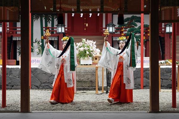 率川神社 ささゆり奉献4