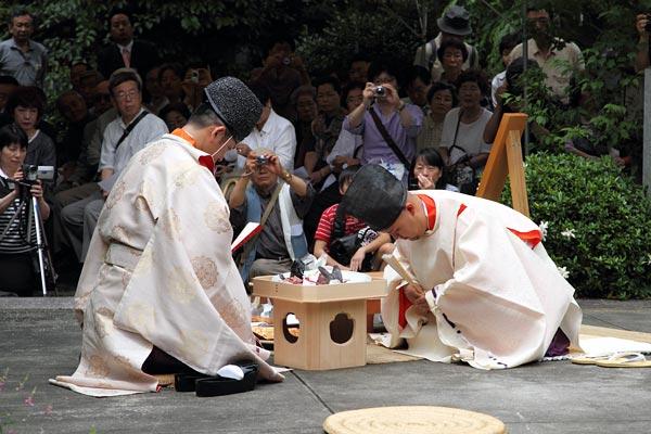 漢国神社 式庖丁4