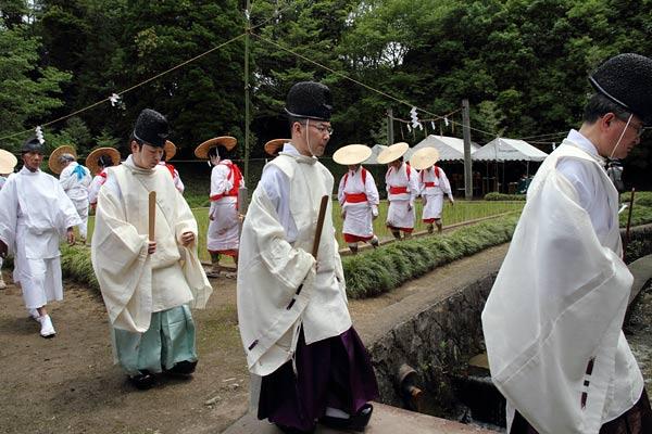 大神神社 御田植祭5