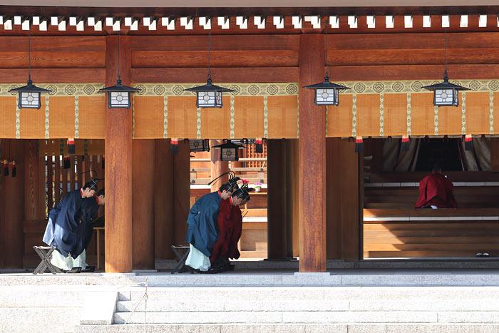 橿原神宮 久米舞1