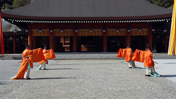 橿原神宮 久米舞2