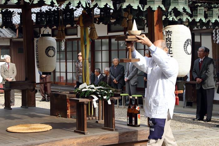 奈良豆比古神社 献芋祭1