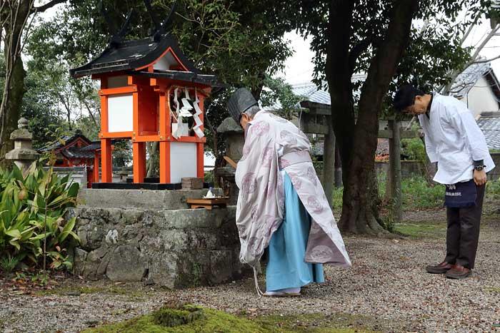奈良豆比古神社 献芋祭3