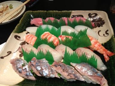 都寿司 にぎり