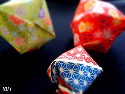 折り紙 風船