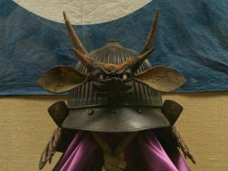 松江城にあった兜
