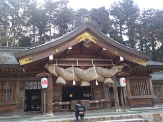 熊野大社拝殿