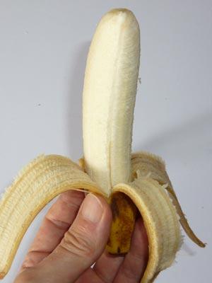 バナナの保存方法の結果