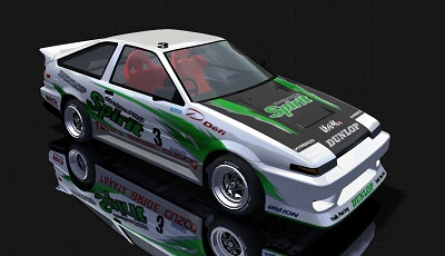 AE86 new skin by michan38san