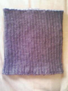 男性用腹巻手編み
