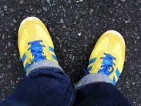 adidas ランナー スロベニア製