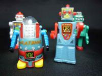 北原コレクション ブリキのロボット おまけ