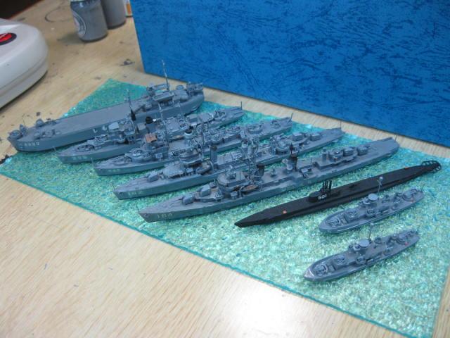 海上自衛隊 貸与艦 たち・・・