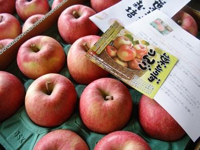 青森りんごをお届けします