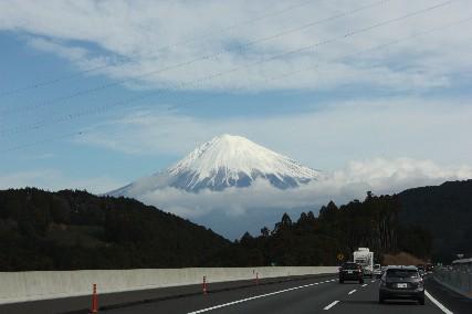 13お正月新東名富士山