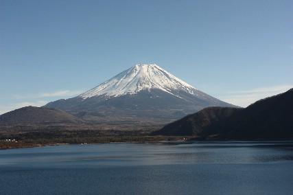 2013元旦本栖湖富士山
