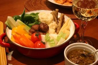 11品目野菜のバーニャカウダ