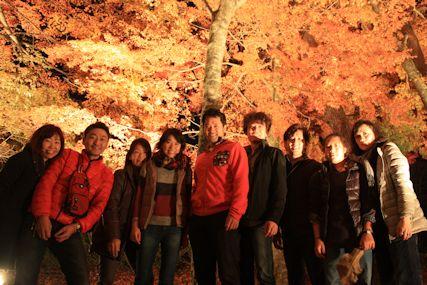 pas山中湖紅葉祭り集合