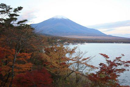 pas山中湖早朝富士山1