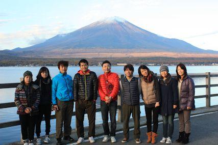 pas山中湖早朝富士山集合