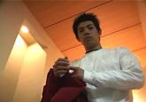 ゲイ動画:[男のプリケツ] エロ可愛いイケメン体育会スウェット姿でGO !! 好帥哥