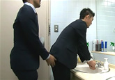 ゲイ動画:[男のプリケツ] スーツのエロ可愛イケメンの誰にも言えない秘密 !! 好帥哥