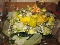かえるさんからお花