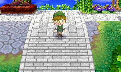 境内の道階段を追加