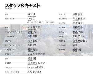 デート・ア・ライブ スタッフ&キャスト公開!