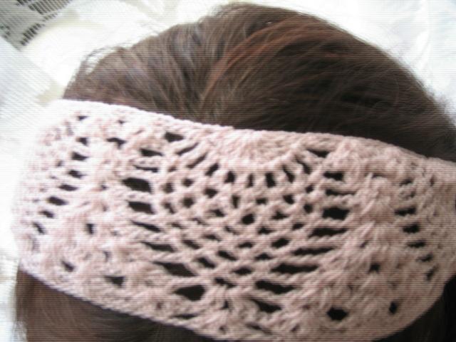 とっても可愛い編み目なのよね