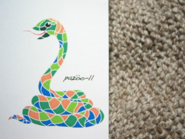 ヘビさんポストカードだよ