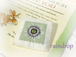 刺繍ブローチ0912のコピー
