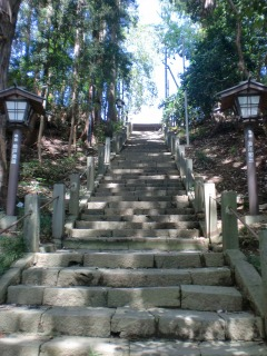 2013年09月01日 虚空蔵堂・階段